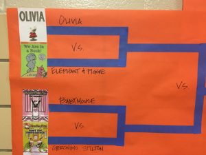 Olivia vs Elephant and Piggie