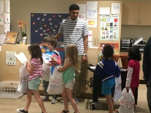 Mr. Dom and kinders