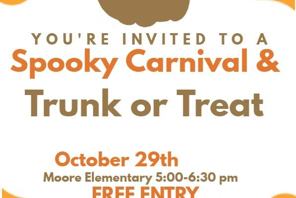 Spooky Carnival and Trunk or Treat