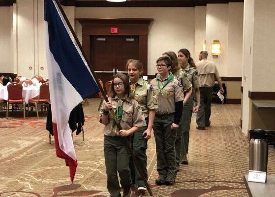 5th Grader Representing Troop 96!