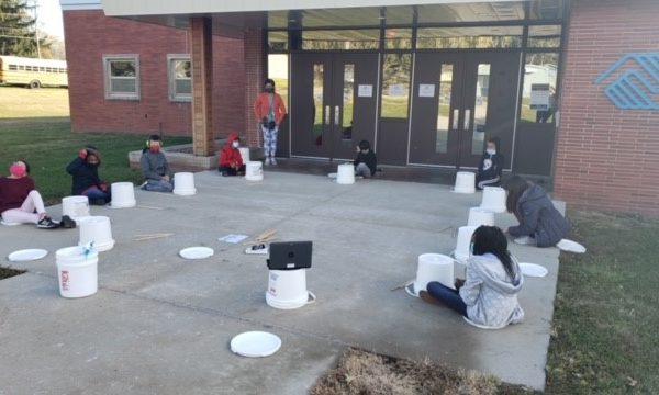 Music Class Outside